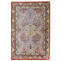 Qum Silk Rug, fine persian silk rug, New York - London, Seattle - Toronto - Cape Town - Sydney - Melbourne - Singapore - Jakarta - Bankok