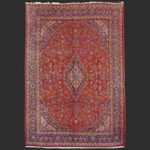 Persian Rug Kashan Semi Antique oversized