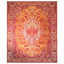 Kashan Silk and Wool Revival rug
