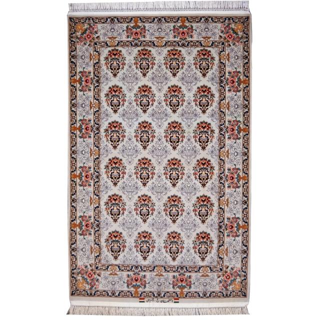 Perserteppich Isfahan fein Korkwolle mit Seide von Djoharian Teppiche