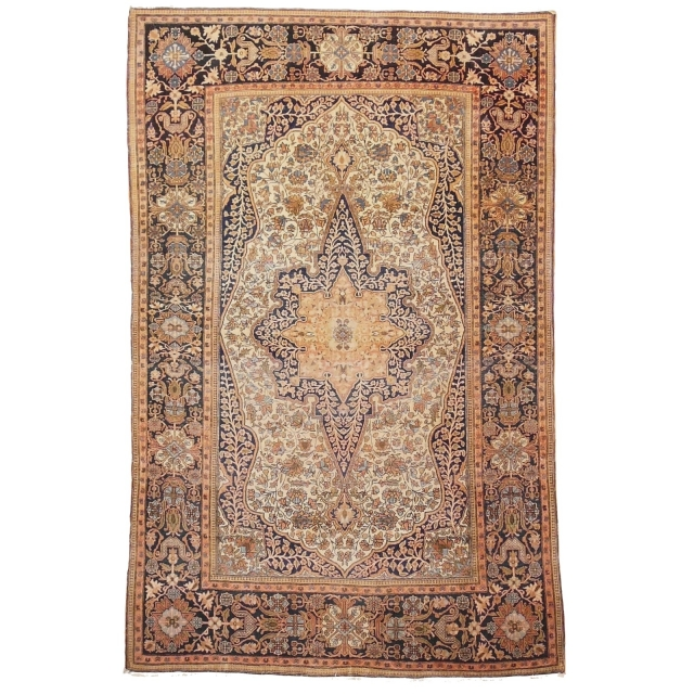 Mohtasham Keschan antik Teppich Iran / Persien 208 x 135 cm