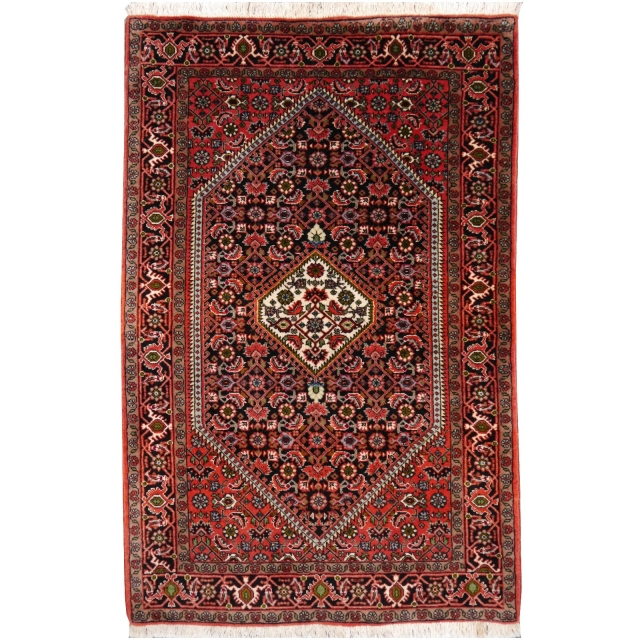 14734 Bidjar persian rug 4 x 2.7 ft / 123 x 81 cm