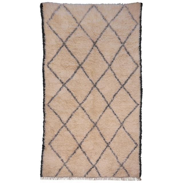 Berber Teppiche werden in Nordafrika produziert. Neben der genormten Kollektionsware stellen immer noch viele Nomaden und Stammesfrauen faszinierende Kunstwerke aus Wolle her. Die bekanntesten Teppiche der Stämme sind Taznakht, Beni Ouarain / Beni Ourain, Azilal, Shrouit, Telsnit, Zemmour und Boushrouit. Häufig geometrisch gemustert bezaubern diese Teppiche durch eine optische Wucht, die nur bei persischen Gabbeh Teppichen manchmal vergleichbar ist. Die modern anmutenden Designs hatten Ihre erste Blütezeit in den 1970èrn, als erste Inneneinrichter die Schönheit dieser einmaligen Teppiche erkannten.