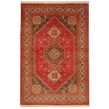 09334 Kashkuli Teppich handgeknüpft Wolle 147 x 98 cm