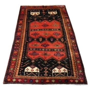 10736 Heriz vintage tribal rug 10 x 5 ft / 300 x 155 cm
