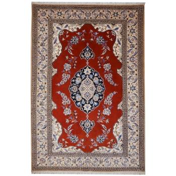 10774 Nain 6 la rug 5.6 x 3.8 ft / 170 x 115 cm beige, red, blue
