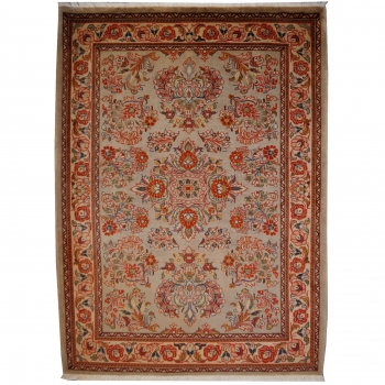 11198 Ghiasabad Saruk Sarough Teppich 155 x 112 cm