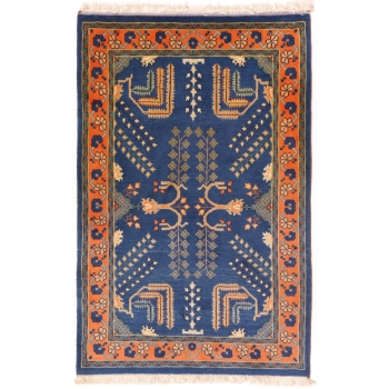 11853 Loribaft rug veggie dyes 4.8 x 3.1 ft / 147 x 96 cm