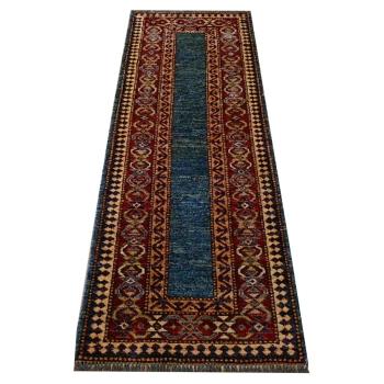 11892 Talish Kazak Teppich Läufer Afghanistan 182 x 62 cm