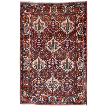 12080 Bakhtiar rug vintage hand knotted7.8 x 5.7 ft / 238 x 173 cm