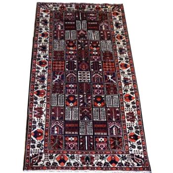 12081 Bachtiari Teppich vintage 310 x 156 cm