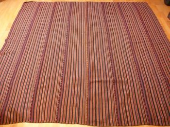 12139 Djadjim Teppich Kelim Decke alt 225 x 225 cm