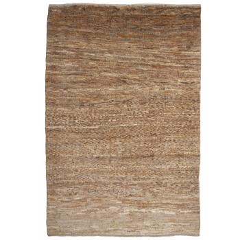 12662 Gabbeh Teppich Natur handgeknüpft Wolle 144 x 98 cm