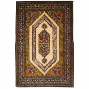 13051 Ghom Teppich mit Seide 165 x 110 cm
