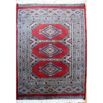 13138 Bochara Teppich Pakistan 83 x 63 cm