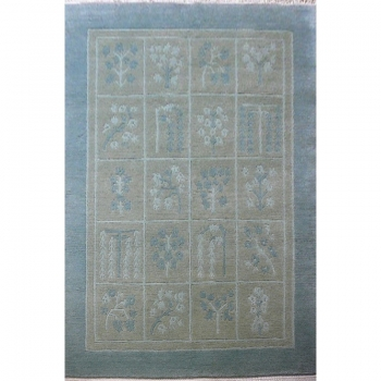 13238 Nepal Tibetan designer rug 6.8 x 4.6 ft / 207 x 141 cm