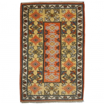 13435 Türkischer Melas Teppich vintage 122 x 81 cm