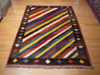 13473 Gabbeh Kazerun Teppich  250 x 170 cm