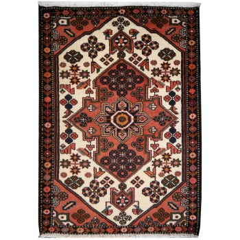 13480 Rudbar rug vintage 5.1 x 3.5 ft / 155 x 107 cm