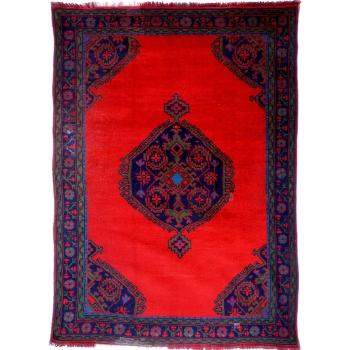 13495 Ushak antik Teppich Türkei 286 x 201 cm