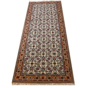 13504 Bidjar Agra rug India 6.5 x 2.4 ft / 197 x 73 cm