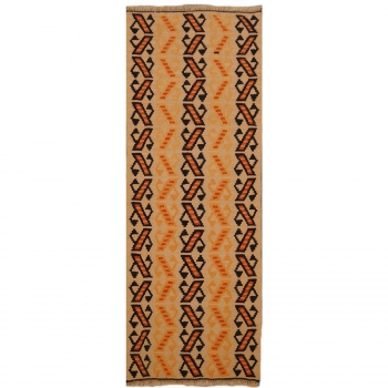 13526 Kilim rug 4.6 x 1.8 ft / 141 x 54 cm