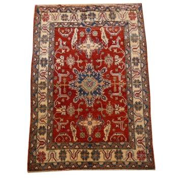 13723 Kazak rug Pakistan 8.2 x 5.4 ft / 250 x 165 cm