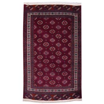 13851 Yomud Teppich Turkmenistan 255 x 165 cm vintage