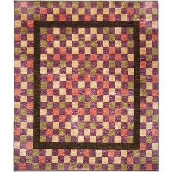 13889 Loribaft Teppich Indien 280 x 258 cm