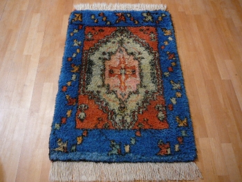 13900 Tulu vintage Teppich Türkei 122 x 80 cm