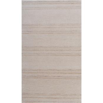 14040 Loribaft Gabbeh Teppich Indien 163 x 95 cm beige