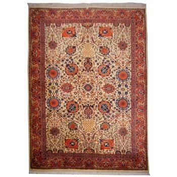 14100 Agra vintage Teppich Indien 343 x 260 cm