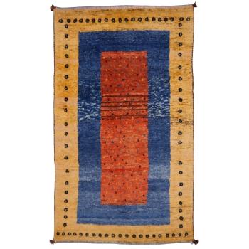 14172 Loribaft Baharlu vintage rug 6.9 x 3.9 ft / 210 x 120 cm