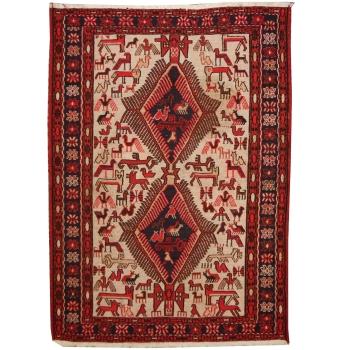 14174 Soumak Teppich vintage 180 x 120 cm