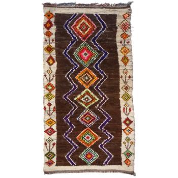 14196 Azilal vintage rug Morocco 9.5 x 4.9 ft / 290 x 150 cm