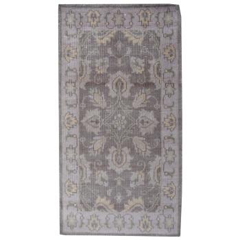 14346 Oushak Antik Finished 160 x 90 cm Wolle Handgeknüpft