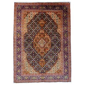 14378Täbriz fein Teppich mit Seide148 x 102 cm