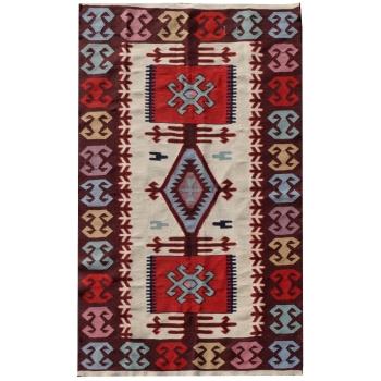 14732 Kelim Teppich Türkei 150 x 96 cm