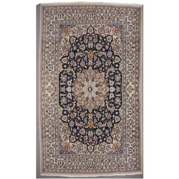 14743 Nain 9 la vintage rug 6.7 x 4.2 ft / 204 x 128 cm
