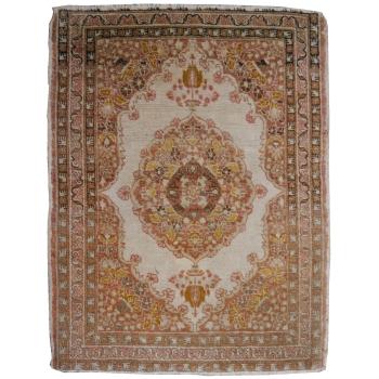 14861 Täbriz Haji Jalili antik Teppich 81 x 61 cm