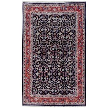 14879 Chorasan Perser Teppich 307 x 200 cm Blau Lachs Purpur