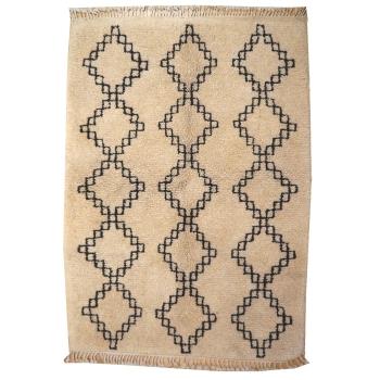 14974 Azilal Vintage 4.6 x 3.4 ft / 140 x 100 cm Berber moroccan collectors rug