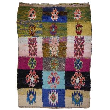14978 Khozema 200 x 140 cm Berber Teppich Marokko vintage Textil