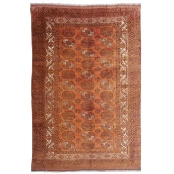 15100 Oversized Ersari Rug Afghan antique 13.3 x 9.6 ft Turkmen Premium