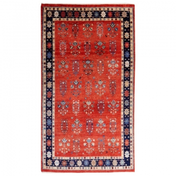 15720 Loribaft rug 7 x 4 ft natural colors