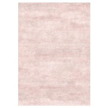 35EA12 Design Teppich Lavender Fog Bambus Seide