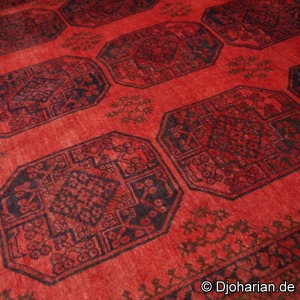 Ersati rug red antique