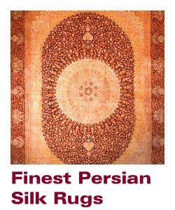 Sydney Australia - Silk Rugs and Carpets - Find fine Rugs, Persian Silkrugs, shop online.