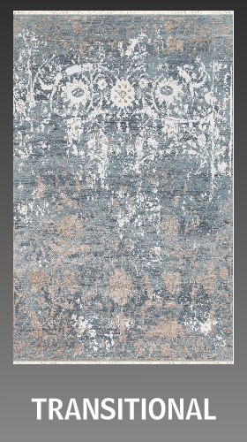 Transitional rugs 8 x 10 ft, 8 x 11 ft, 9 x 12 ft, 10 x 13 ft, 15 ft, 16 ft, 17 ft, 18 ft, 20 ft
