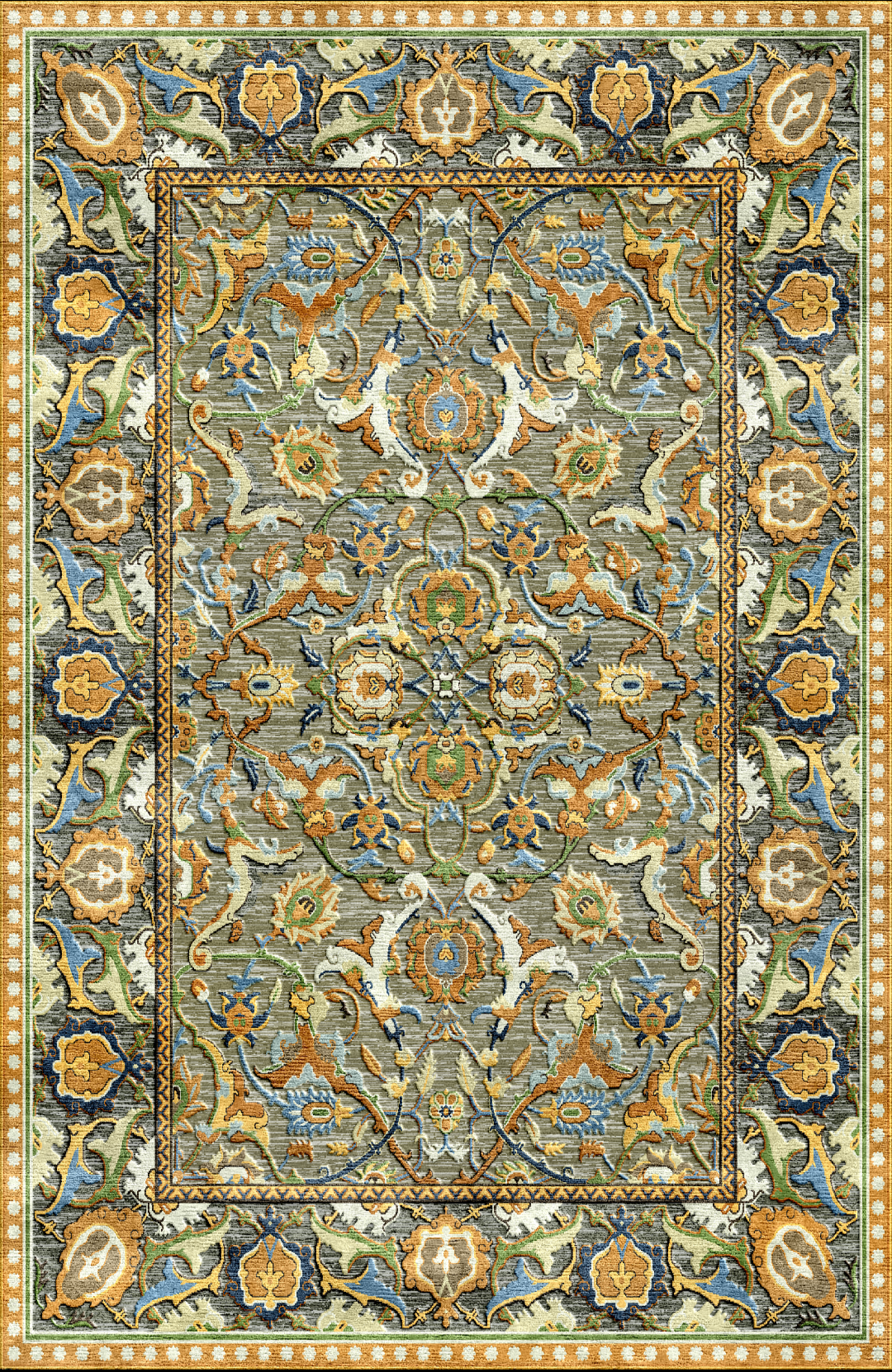 Polonaise Rug Reproduction Christies
